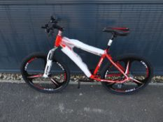 4023 - Red Extreme mountain bike