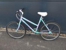Raleigh multicoloured girls bike