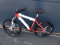 Red Extreme mountain bike