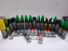 Turtle Wax & Simoniz car cleaner products including carpet & upholstery cleaner, multi purpose