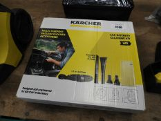 Karcher multi purpose vacuum cleaner accessory set and set of car seat covers