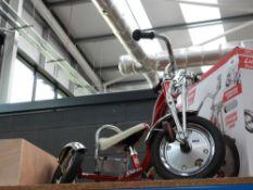 Unboxed Schwinn tricycle (damaged wheel)