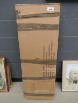 Box containing furniture parts