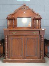 Victorian mirror backed sideboard
