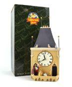 A Robert Harrop Camberwick Green figure: CGMB4 Trumpton Townhall Clock (musical box), boxed