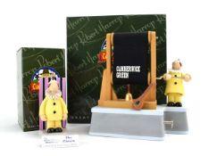 Two Robert Harrop Camberwick Green figures: CGMB3 The Clown Musical Box and CGYP08 The Clown, both