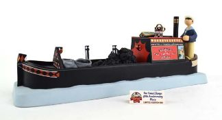 A Robert Harrop Camberwick Green figure: CGMB9 The Canal Barge (musical box), boxed