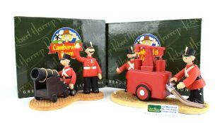 Two Robert Harrop Camberwick Green figures: CGYP07 Sergeant Major Grout and the Water Pump and CGS04