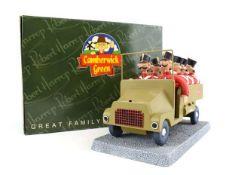 A Robert Harrop Camberwick Green figure: CG94 The Army Truck, boxed.