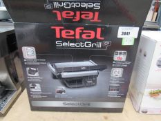 (TN53) Tefal select grill, with box