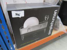 3201 - Simple Human compact steel frame dish rack