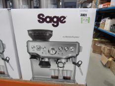 (TN48) Sage Barista Express coffee machine
