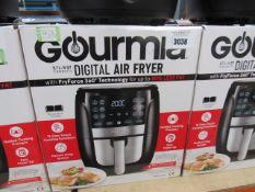 (TN11) Gourmet 5.7ltr digital air fryer, with box