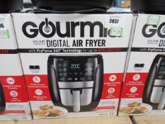 (TN59) Gourmet 5.7ltr digital air fryer, with box