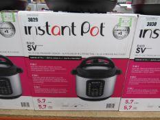 (TN6) Instant Pot multi use pressure cooker, with box