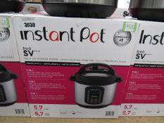 (TN5) Instant Pot multi use pressure cooker, with box