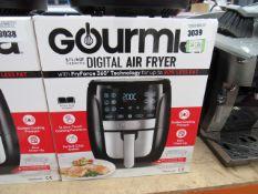 (TN60) Gourmet 5.7ltr digital air fryer, with box