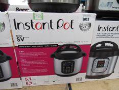 (TN4) Instant Pot multi use pressure cooker, with box