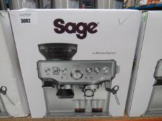 (TN16) Sage Barista Express coffee machine