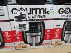 (TN58) Gourmet 5.7ltr digital air fryer, with box