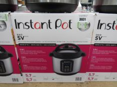 (TN54) Instant Pot multi use pressure cooker, with box