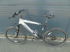 Silver Carrera mountain bike