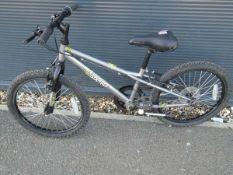 4046 - Small Apollo grey childs bike