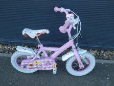 Pink Apollo childs bike