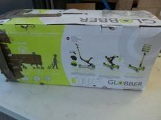 Boxed Globber childs scooter