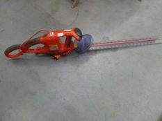Flymo electric hedge trimmer