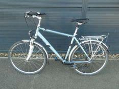 Montego blue gents bike