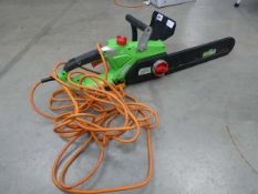 Green electric chainsaw