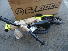 Boxed childs bike