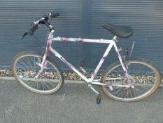 Pink Raleigh gents mountain bike