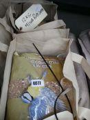 2x 12kg mixed bags of bird seeds
