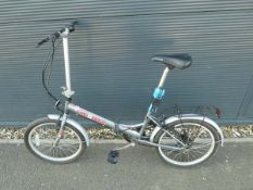 Pro Bike grey fold up bike