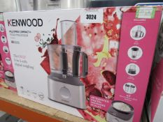 3 4 Kenwood multi pro compact plus food processor with box