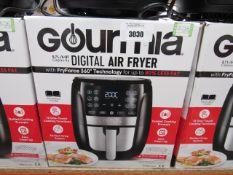 58 Gourmet 5.7L digital air fryer with box