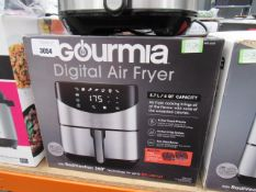 (TN70) Gourmet digital air fryer with box Light use