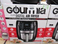 57 Gourmet 5.7L digital air fryer with box