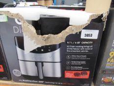 (TN69) Gourmet digital air fryer with box