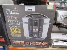 (TN68) 20-in-1 Pressure King Pro multi cooker