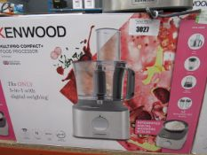62 4 Kenwood multi pro compact plus food processor with box