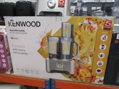 6 Kenwood multi pro XL food processor with box Light use