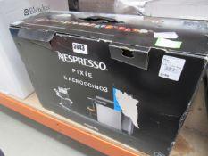 (TN117) Nespresso coffee machine with box