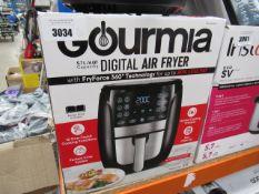Gourmet 5.7L digital air fryer with box