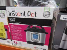 (TN49) Instant Pot Duo Evo Plus multi use pressure cooker with box Light use