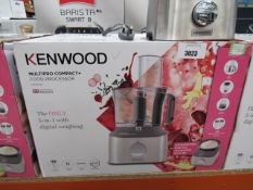 2 4 Kenwood multi pro compact plus food processor with box