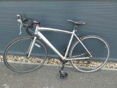 Ridgeback grey racing bike