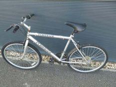 Silver Poweraid mountain bike